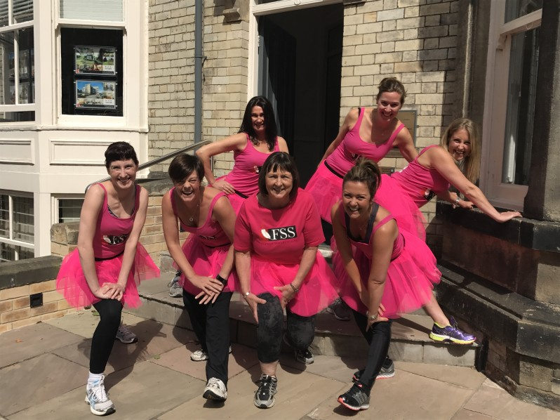 FSS Pink Ladies get 'Pretty Muddy' to fight cancer