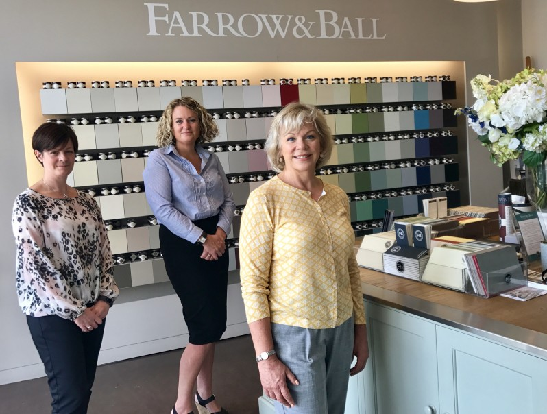 FSS estate agents in Harrogate team up with Farrow & Ball