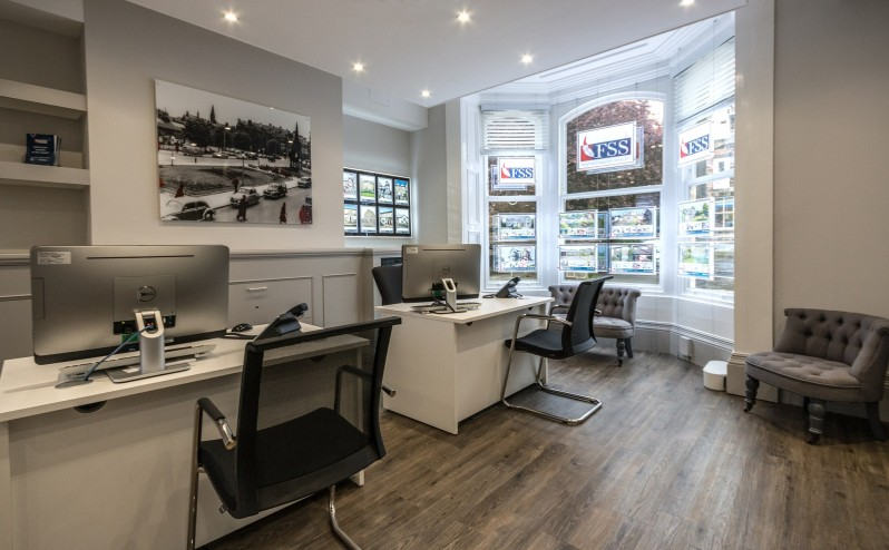 Offices of high street estate agent in Harrogate FSS