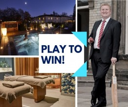 Win a Luxury Spa Day for Two at Rudding Park