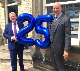 Harrogate property firm celebrates 25 years