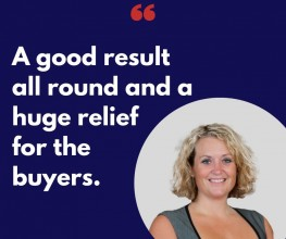 How our sales team delivered outstanding service for speedy completion